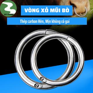 Vòng xỏ mũi bò - Thép Ko gỉ 7,5cm - VXMB1 thumbnail