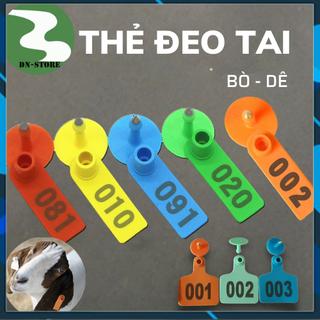 Thẻ đeo tai bò dê heo TPU 5cm Nhập khẩu - TDTBD1 thumbnail
