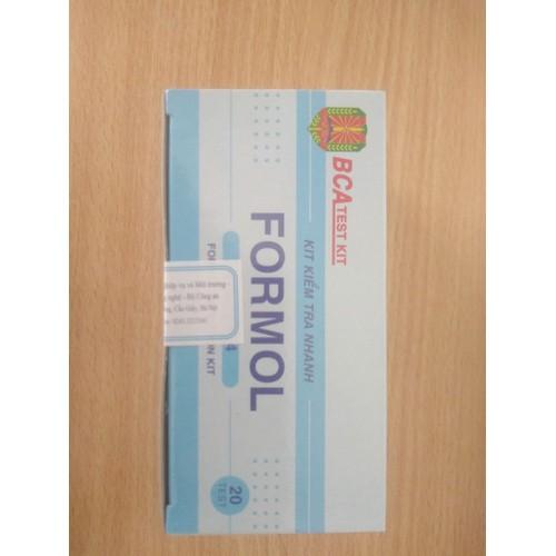 kit kiểm tra nhanh Formon ( Formandehyt)
