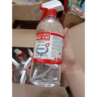 Nước rửa tay sát khuẩn kosmo 70 độ chai 1lít - 1028 thumbnail