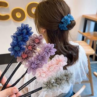 Thanh búi tóc tạo kiểu hình bông hoa - 10204290154 thumbnail