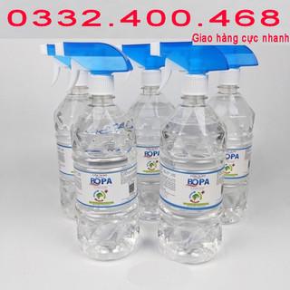 [CHAI 1 LÍT] Cồn 70 độ xịt diệt khuẩn, cồn 70 độ nước rửa tay - C70 thumbnail