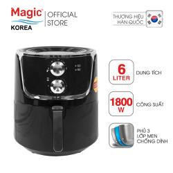 Nồi chiên không dầu Magic Korea A801 6L Đen