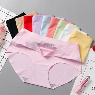 [FREESHIP- ĐC KIỂM HÀNG] Set 10 quần lót su không đường may mát mềm mịn cao cấp 45-60kg - 54_51842475 thumbnail