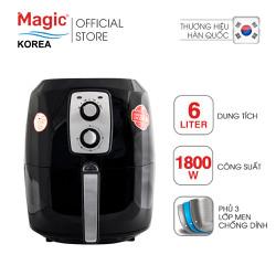 Nồi chiên không dầu Magic Korea A83 6L Đen