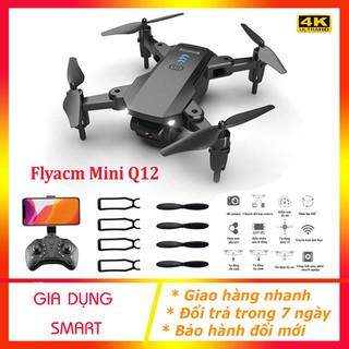 Máy bay camera 4K - Flycam giá rẻ điều khiển từ xa, Drones mini thế hệ 2021 - Flycam mini Q12 thumbnail