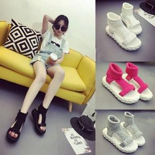 Giày Sneaker Nữ Đẹp Màu Trắng HotTrends - kke thumbnail