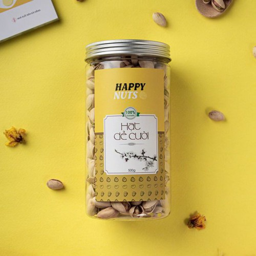 Hạt Dẻ Cười Mỹ 500GR - HAPPY NUTS