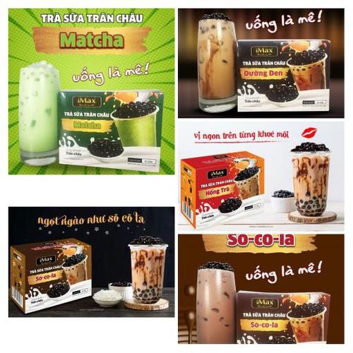 Trà Sữa Chân Châu Socola/matcha/đường đen/hồng trà - Imax