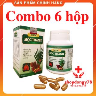 Combo 6 Hộp Uống Bổ Phế Mộc Thanh Hỗ trợ các vấn đề viêm họng - 6bophemocthanh thumbnail