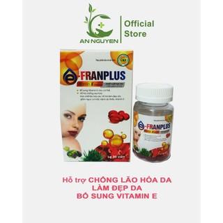 Viên Uống đẹp da Vitamin E Đỏ 4000mcg hộp 30viên - VTM E thumbnail
