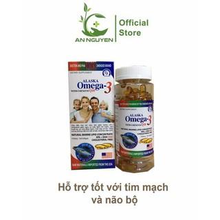 Viên dầu cá Alaska OME 3 with Coenzym Q10 lọ 100viên - OMA thumbnail