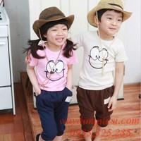 Bộ áo quần cho bé trai và bé gái GB351
