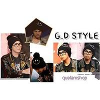 Nón len hình măt cười của GD bigbang