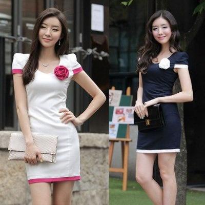 Đầm công sở Lady V416 1