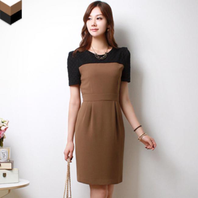 dam cong so 1m4G3 hinh san pham chi tiet sendo 1361721330 1 Trợ giúp bạn nữ tròn trĩnh chọn váy đẹp công sở