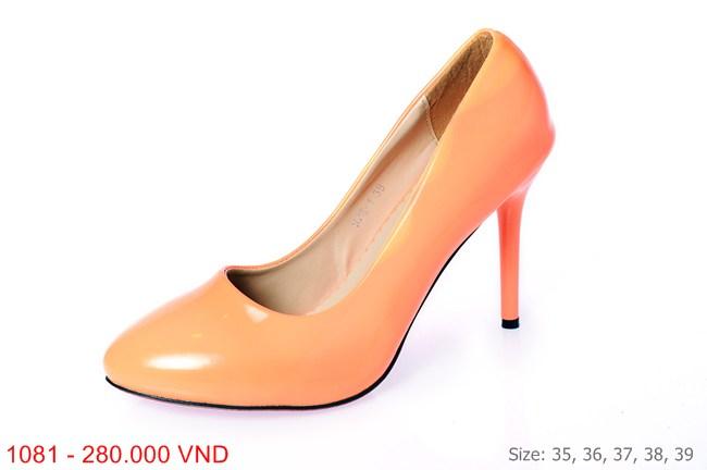 Hình ảnh Me Girl Shoes - Giày cao gót 7 phân màu cam cực nổi bật và ấn tượng 2
