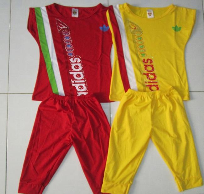 Hình ảnh Bộ Đồ thun Adidas dành cho bé giái 9 – 12 Tuổi Giá 60,000 VND 4