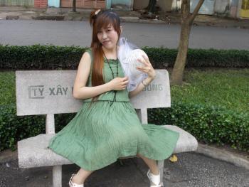 Hình ảnh Đầm Pleat Dài Qua Gối 5