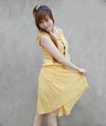 Hình ảnh Đầm Pleat Dài Qua Gối 8