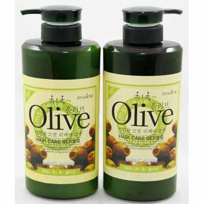 Bộ Dầu Gội Và Xả Olive 1