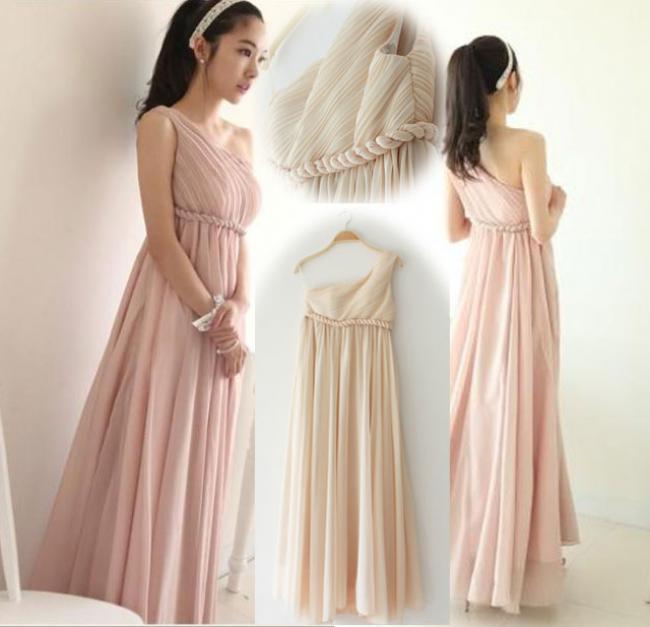 Váy Đẹp Sài Gòn - ĐẦM DẠ HỘI LỆCH VAI CAO CẤP 1