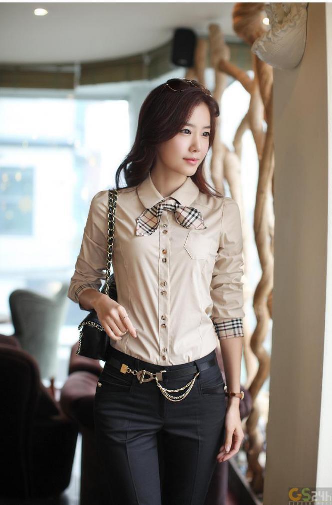 hinh san pham chi tiet sendo 1371999247 1 Áo sơ mi nữ   kiểu trang phục quan trọng của phái đẹp văn phòng