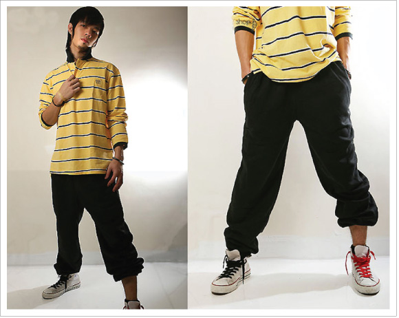 Quần hiphop form rộng 3